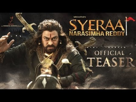 Sye Raa Narasimha Reddy Movie Teaser, Cast and Crew Details