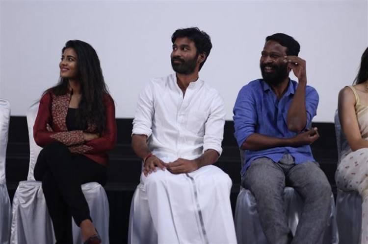 """Vada Chennai"" Movie Grand Press Meet Stills"