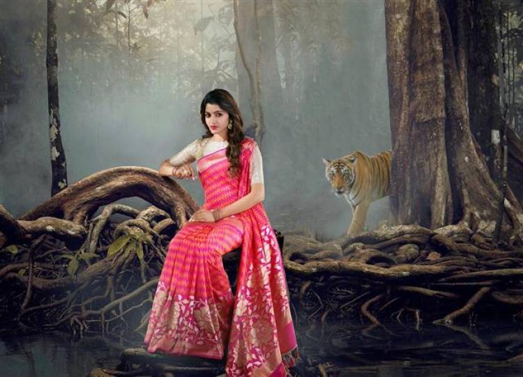 Sai Dhanshika 'Shree Devi Textiles' Stills Collection