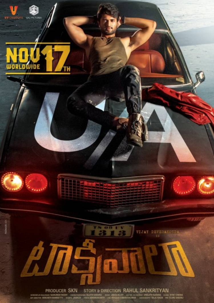 Taxiwala movie Censored, to be released on November 17