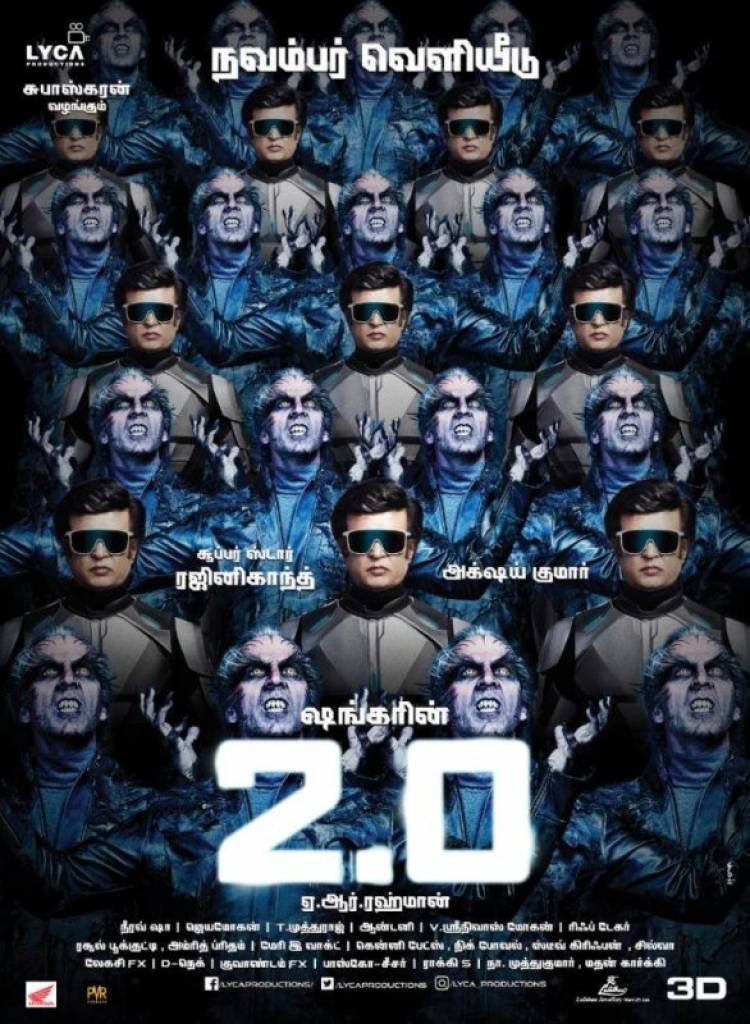 """2.0"" Grand Release on 29th Nov Worldwide"