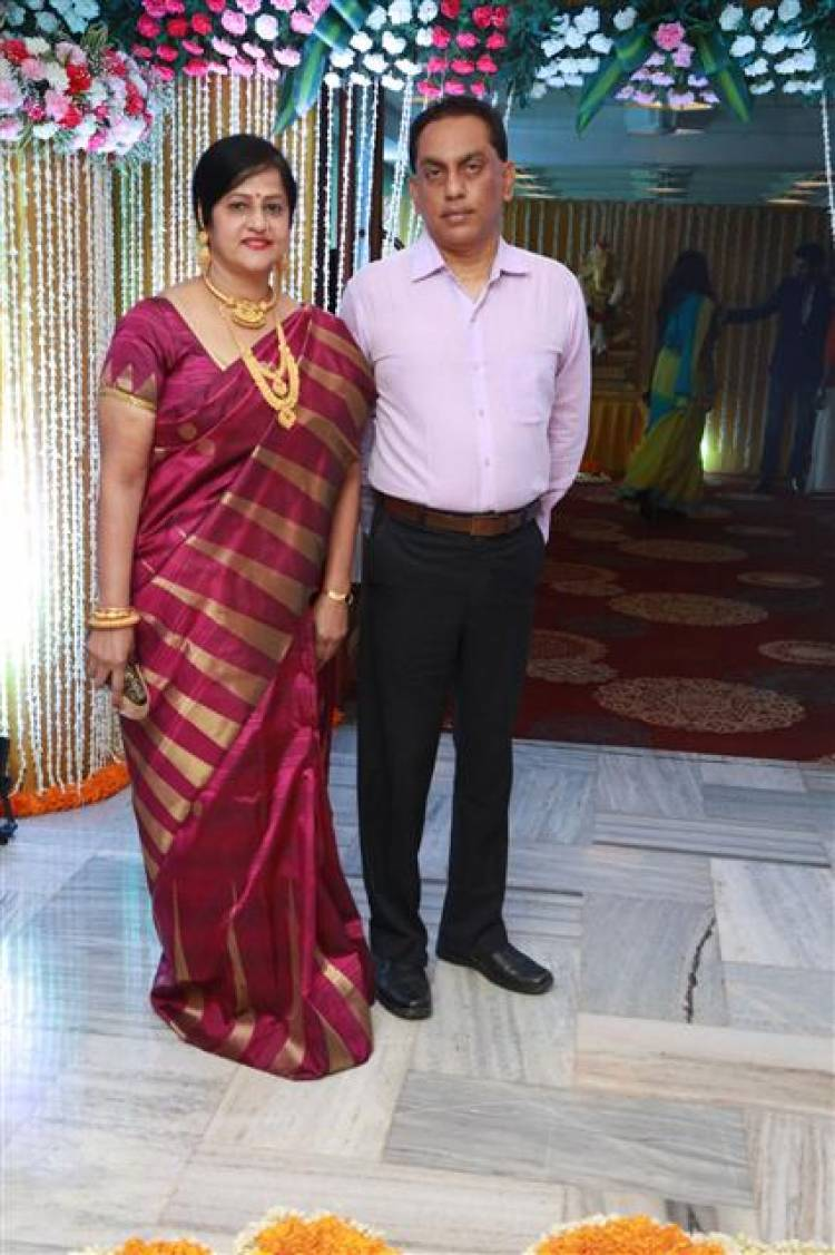 Actor Shivakumar - Actress Suja Varunee Wedding Reception Stills