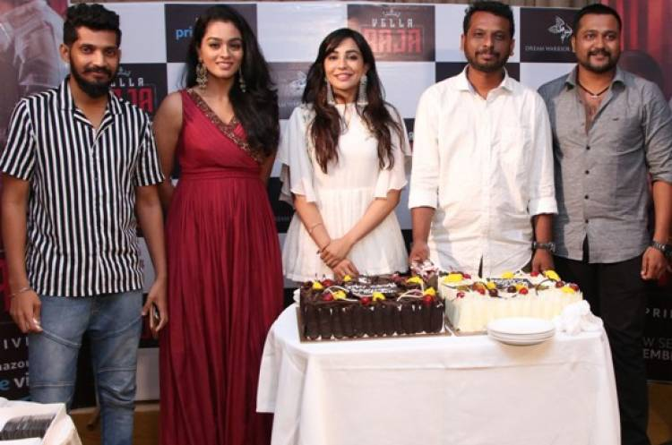 "Amazon's first Prime Exclusive Series ""Vella Raja"" Press Meet Stills"