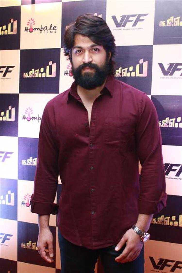 KGF Movie Press Meet Stills