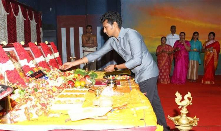 'Karthi 18' Pooja Stills