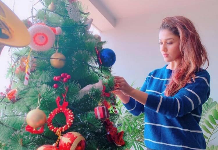 Christmas celebrations from Nayanthara and Vignesh Shivan