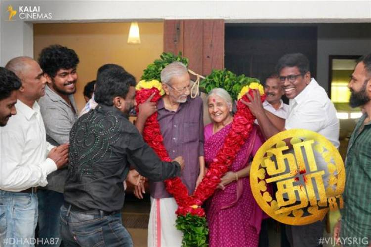 Legendary Actor Charuhaasan's Birthday Celebration Stills