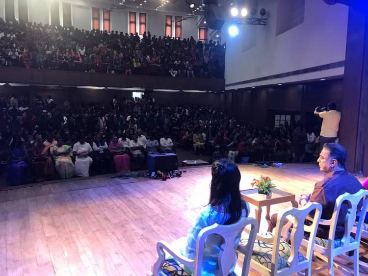 MNM Party President Mr. Kamal Haasan stills at WCC