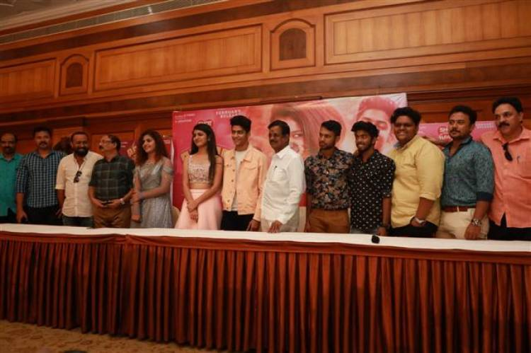 """Oru Adaar Love"" Audio Launch Stills"