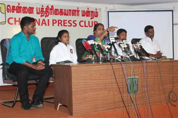 """Thakkadi"" Awareness Short film launch stills"