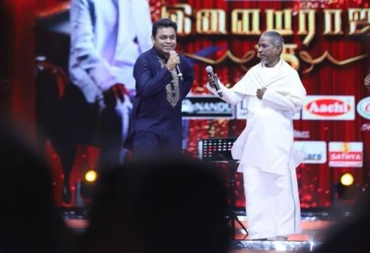 Maestro Ilaiyaraaja questions AR Rahman in 'Ilaiyaraaja 75'