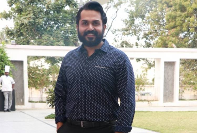Actor Karthi praised director Rajath Ravishankar
