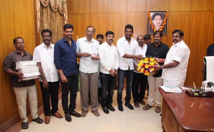 Tamil Film Producer Council thanks Honourable Tamil Nadu CM for Ilaiyaraaja 75