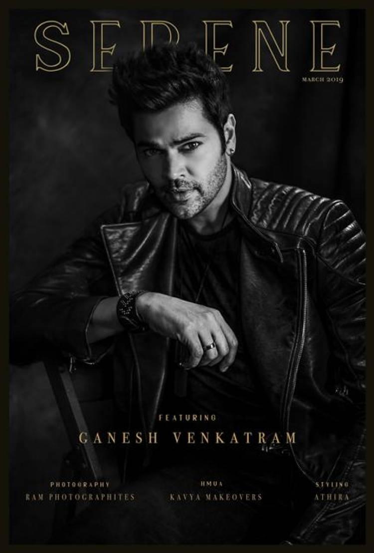 Actor Ganesh Venkatram's Latest Photoshoot Stills