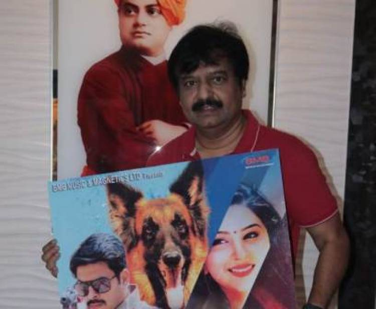 "Actor Vivek launched first look poster of ""Rocky The Revenge"""