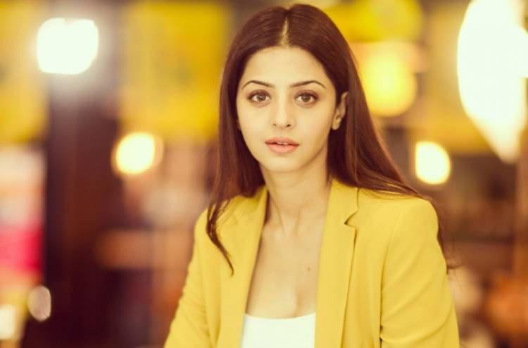 Stunning New Photoshoot Stills of Actress Vedhika