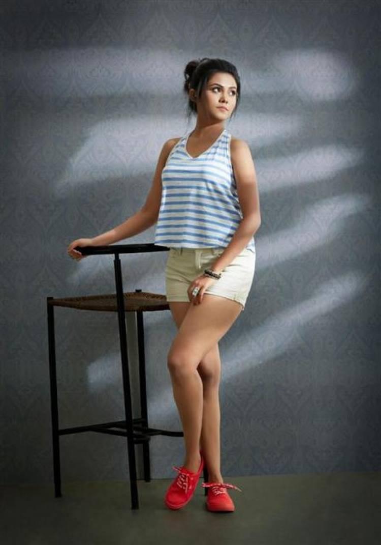 Actress Sancher D Souza Photoshoot Stills