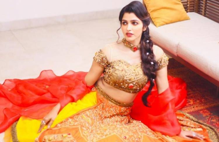 Sai Dhanshika set the Ramp on fire with a New Bridal Collection