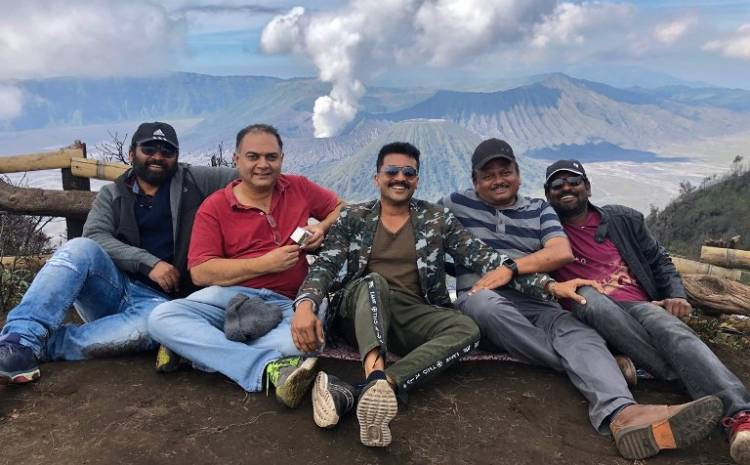 """Kaappaan"" Song Shoot and Final Schedule begins in Jawa Island"