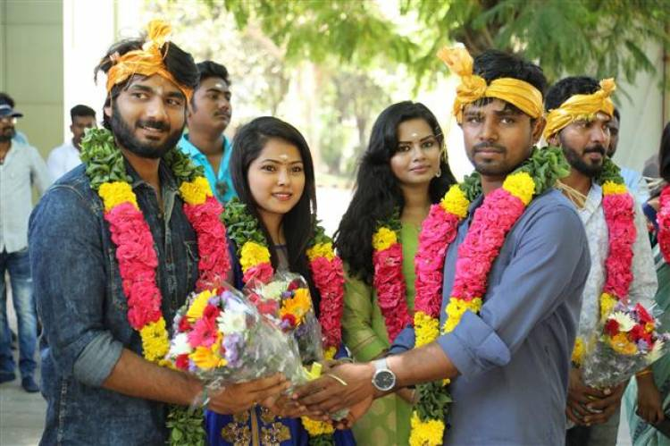 """Puyalil Oru Thoni"" Movie Pooja Stills"