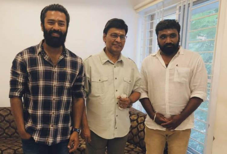 "Actor Shanthnu team up with ""Madhayaanai Kootam"" fame director"