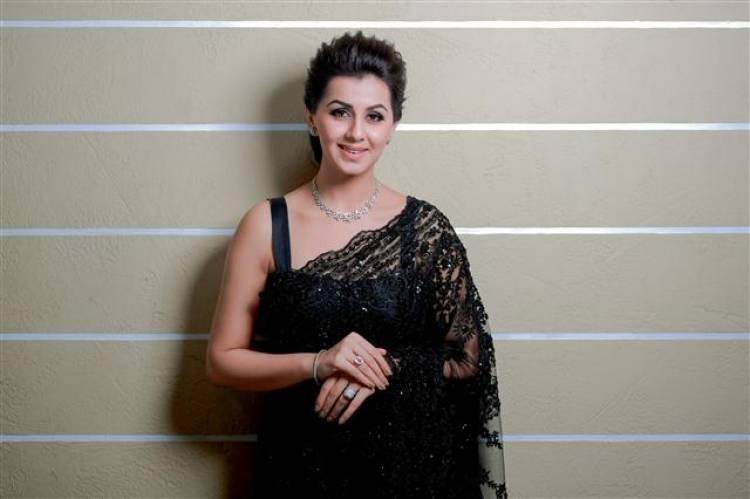 Actress Nikki Galrani Charming Photoshoot Stills