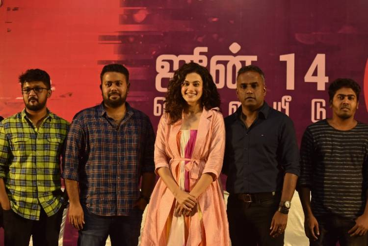 Game Over Press Meet Stills