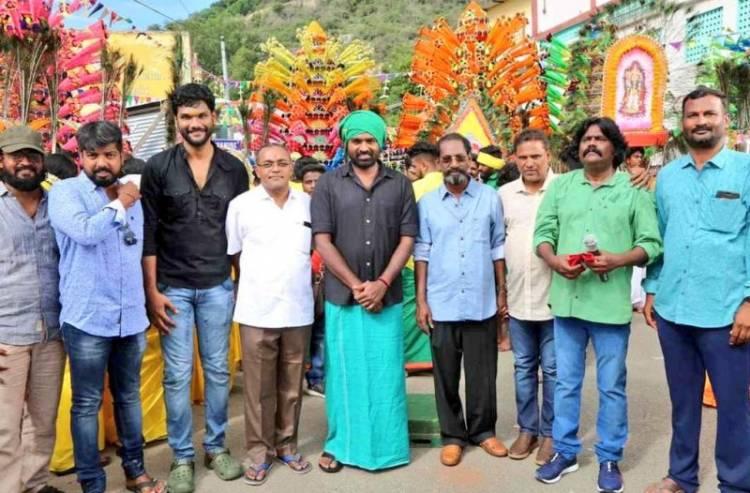 Actor Vijaysethupathi's new movie starts today with pooja