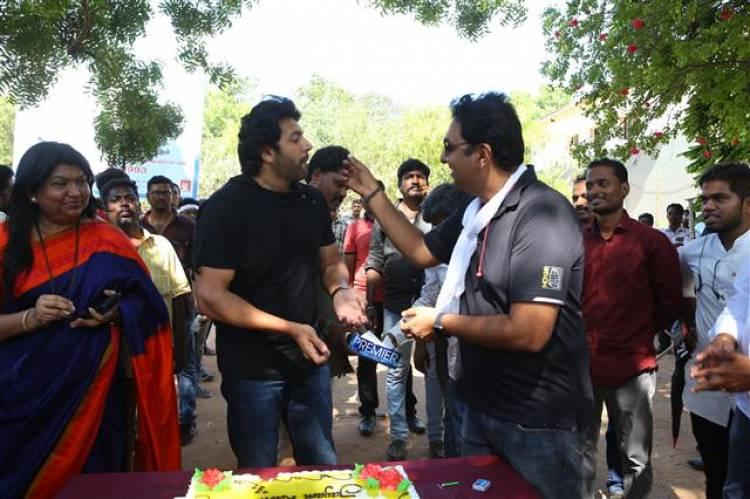 JAYAM RAVI's 25th Movie Pooja Stills