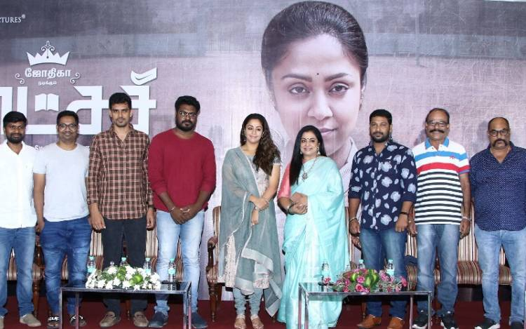Raatchasi - Press Meet Stills
