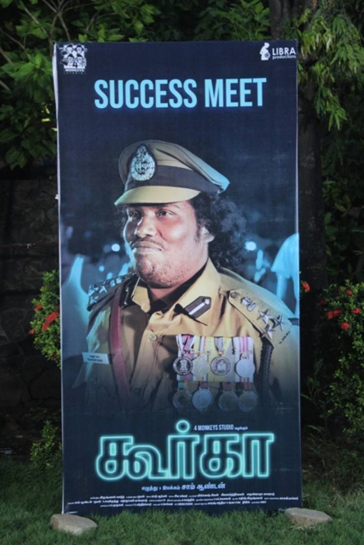 Gurkha Success Meet Stills