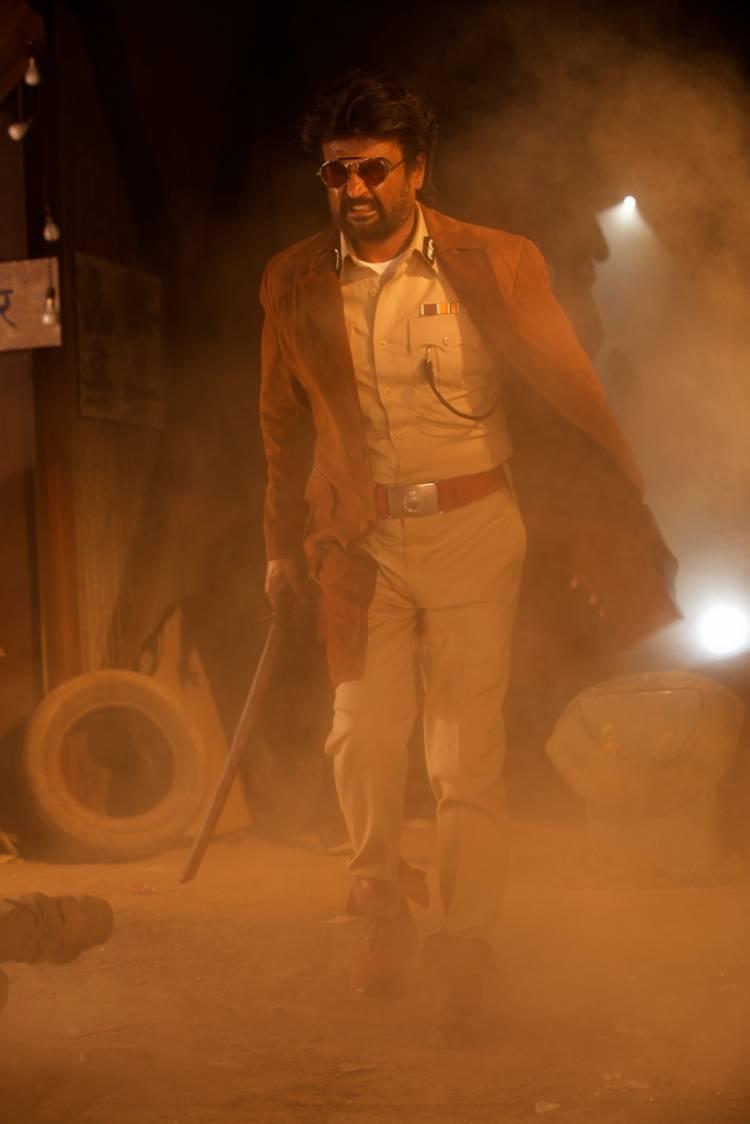 "Rajinikanth's ""Darbar"" Movie Stills"