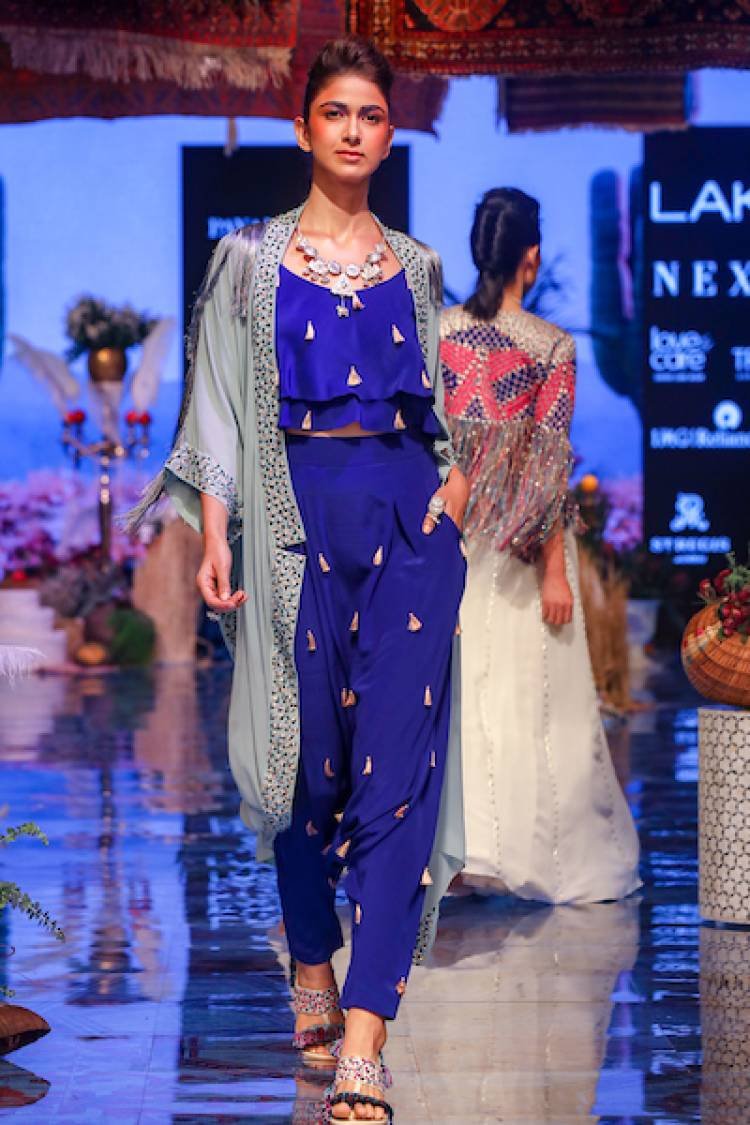Payal Singhal Celebrated 20 Years in Fashion with A Stunning Collection at Lakmé Fashion Week Winter/Festive 2019