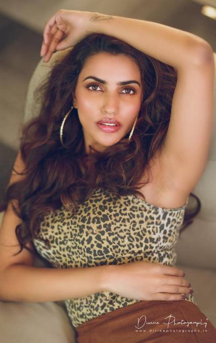 Actress AksharaGowda Latest Stills
