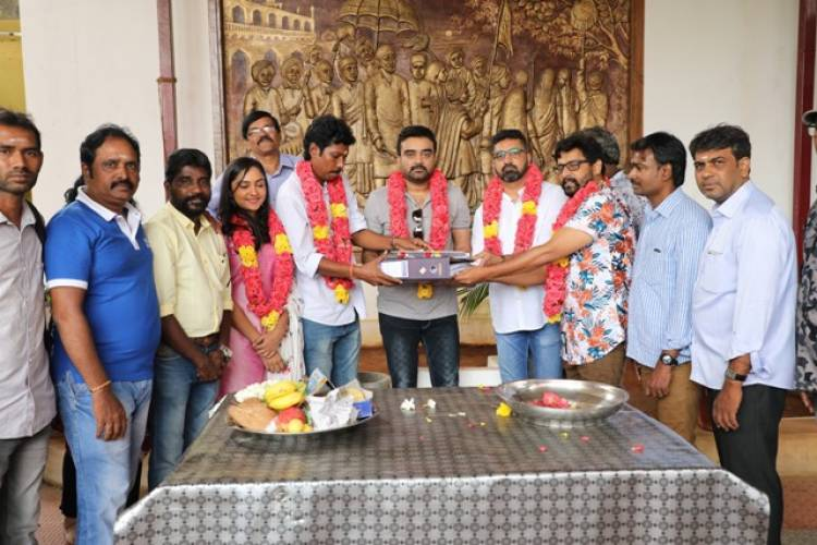 Agni Natchathram Movie Pooja Stills
