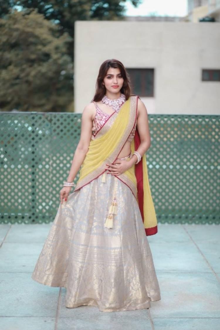 Actress SaiDhanshika Looks Surreal on her birthday
