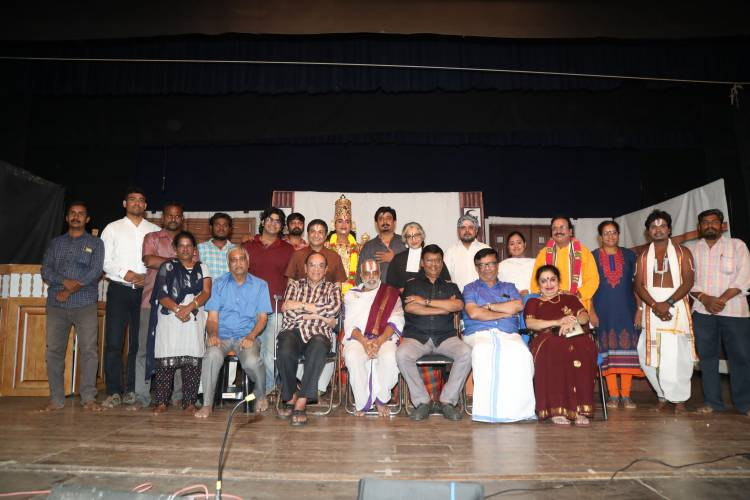 "First Sequel Tamil Stage Show Madhuvanthi M's ""Perumaale 2"""