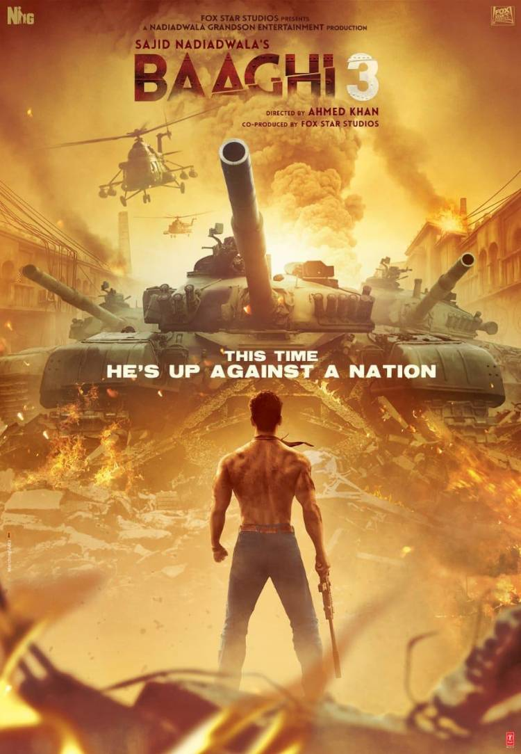Baaghi3 trailer out on 6th Feb, Thursday