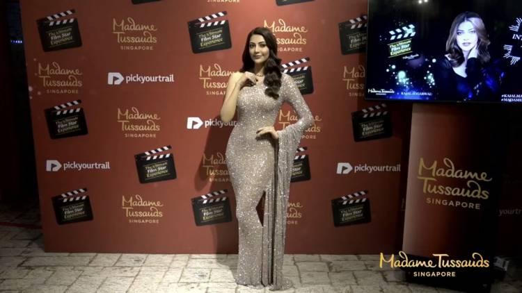 Madamme Tussauds version of Kajal Aggarwal