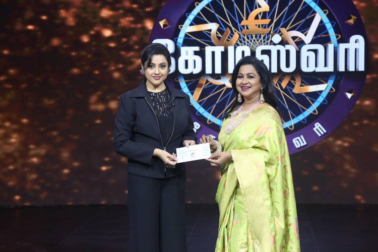 Actress Meena reveals how Rajini was first 'Uncle' and then 'Aththaan' in Kodeeswari's special episode