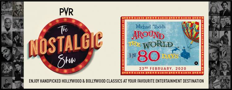Watch Hollywood Classic 'Around the world in 80 Days' at PVR
