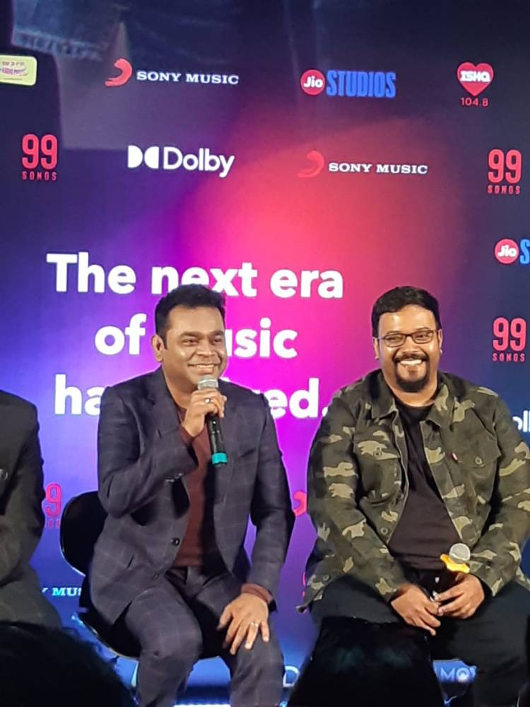 A.R. Rahman and Ehan Bhatt attend Jwalamukhi's song launch for 99 songs