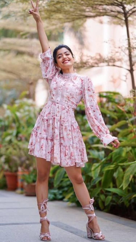 Actress Rashmika Mandanna fabulous recent pictures