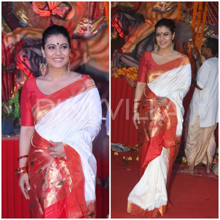 """""""I have a different kind of attachment to sarees'' reveals Kajol expressing her love for the traditional attire"""
