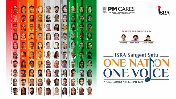 One Voice One Nation an anthem dedicated to the nation in aid of PM Cares