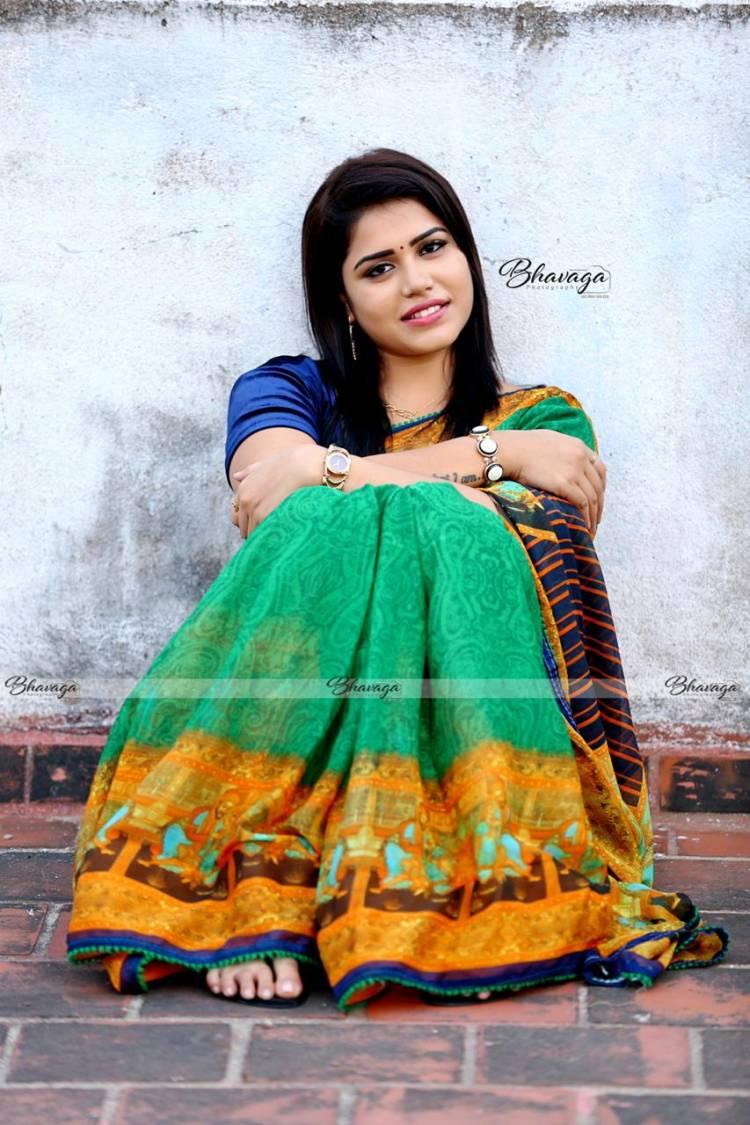Adorable Actress Aradhanababu latest photoshoot