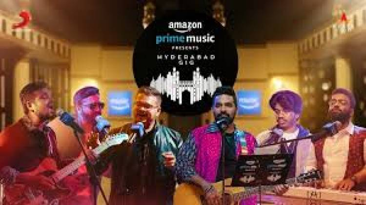 Amazon Prime Music & Sony Music collaborate on Telugu Pop with Hyderabad Gig