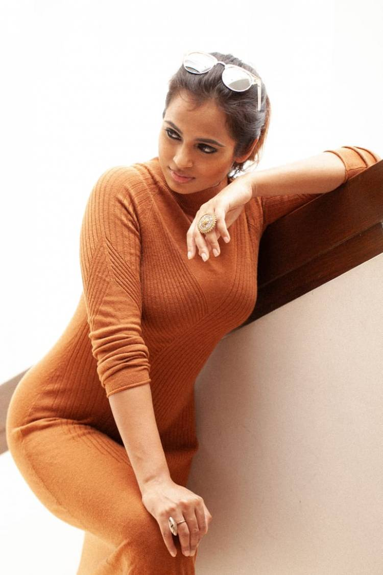 Actress RamyaPandian look stunning in these pictures from her latest photoshoot