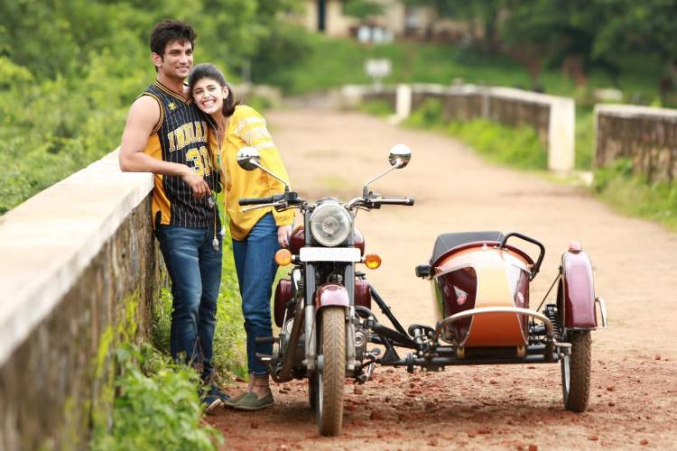 Sushant and Sanjana bonded over their love for academics and food