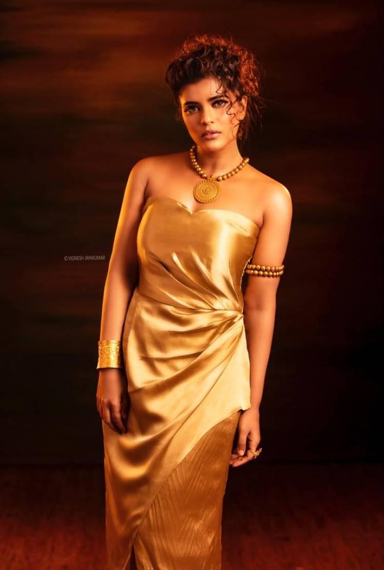 Actress Aishwarya Rajesh looks ravishing in these sizzling hot pictures